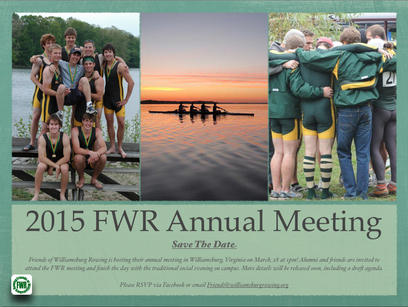 2015 FWR Annual Meeting